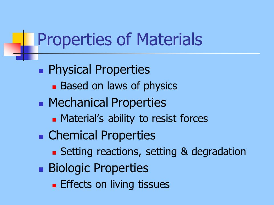 Properties Of Materials Ppt Video Online Download