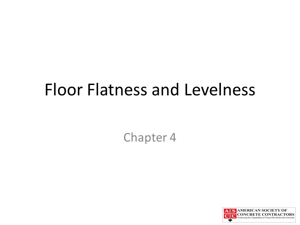 Floor Flatness and Levelness  ppt video online download