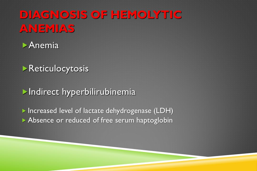 Intravascular Hemolysis Haptoglobin