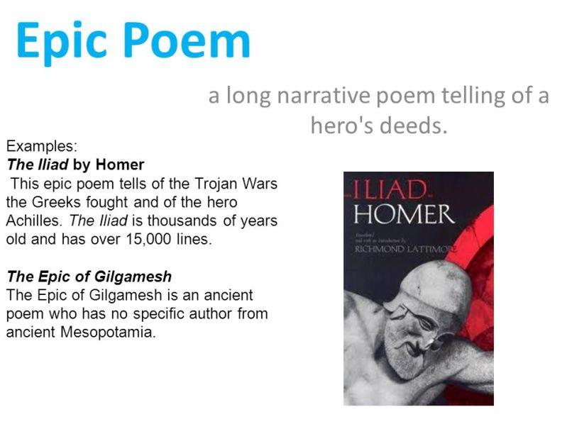 epic poem examples short | creativepoem.co