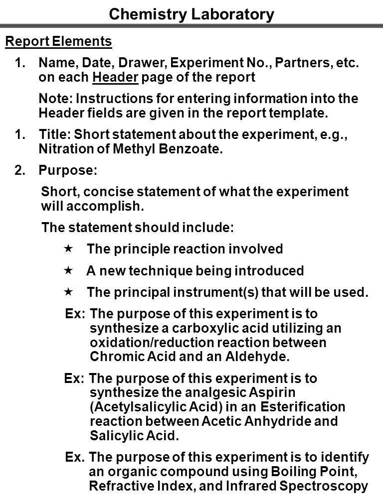 Laboratory report on esterification Custom paper Help dzhomeworkwoxs ...