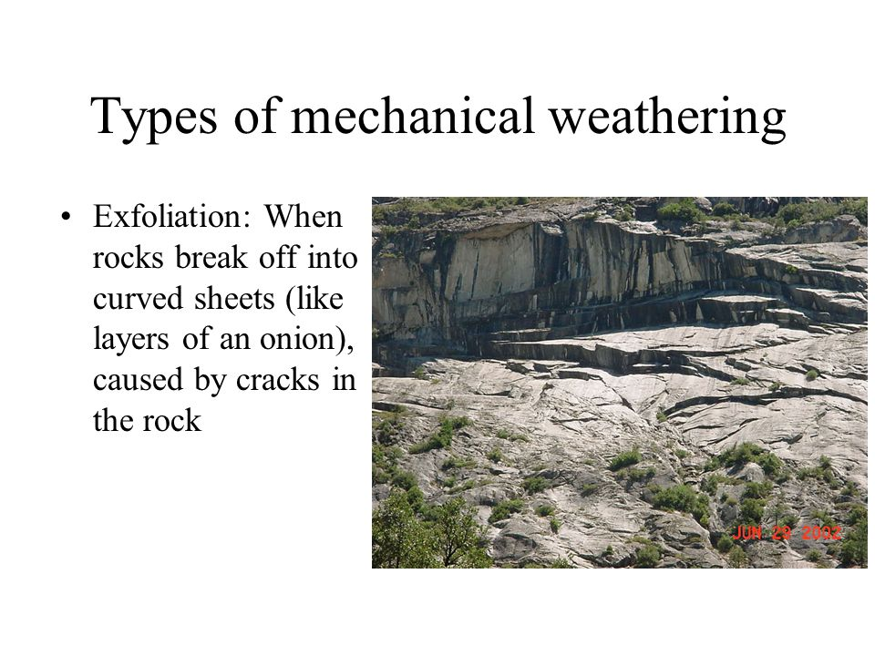 mechanical weathering diagram wiring a 3 way light switch and erosion ppt video online download types of