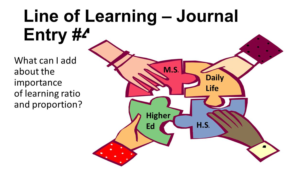 hight resolution of line of learning journal entry 4