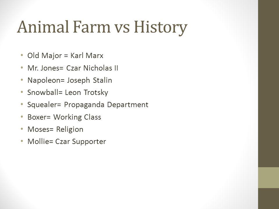 animal farm squealer propaganda