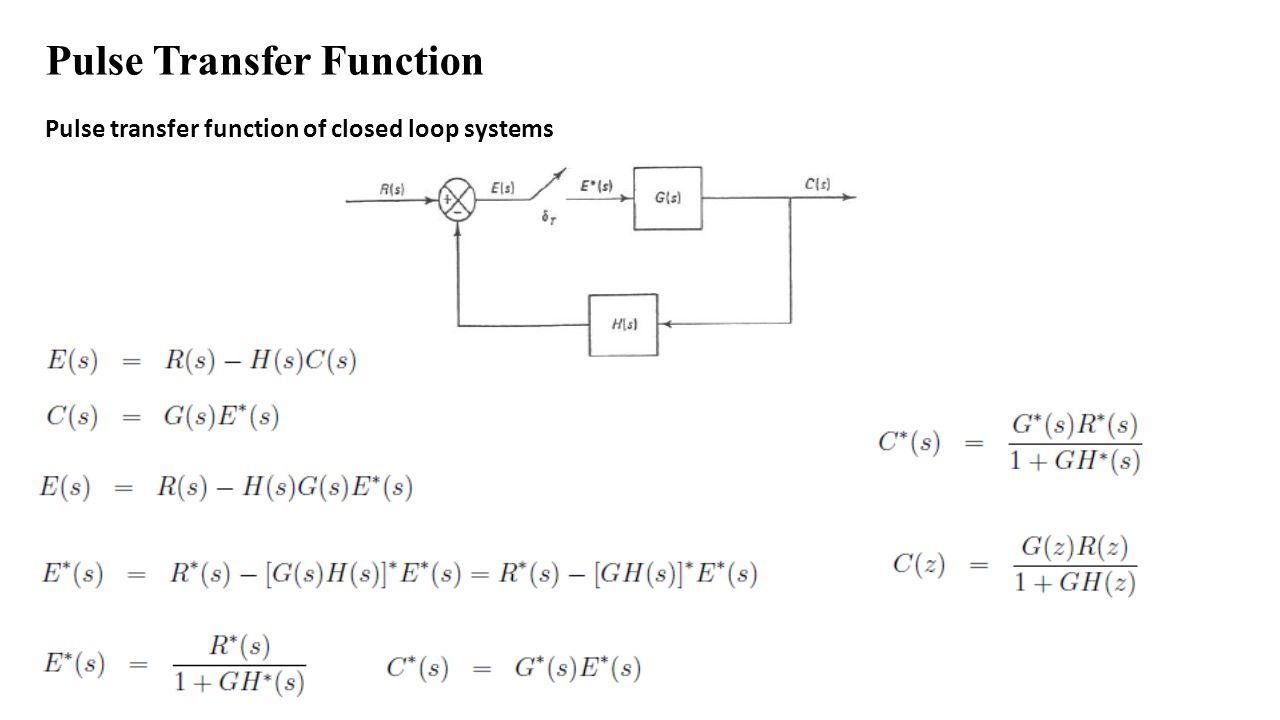 hight resolution of pulse transfer function