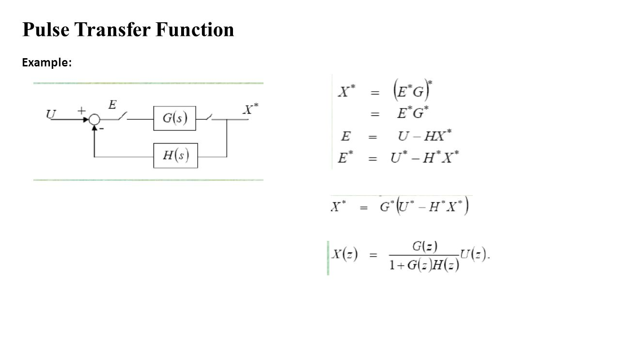 hight resolution of 18 pulse transfer function