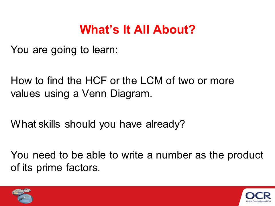 hcf and lcm using venn diagrams light bar to find the ppt video online download 2 what s
