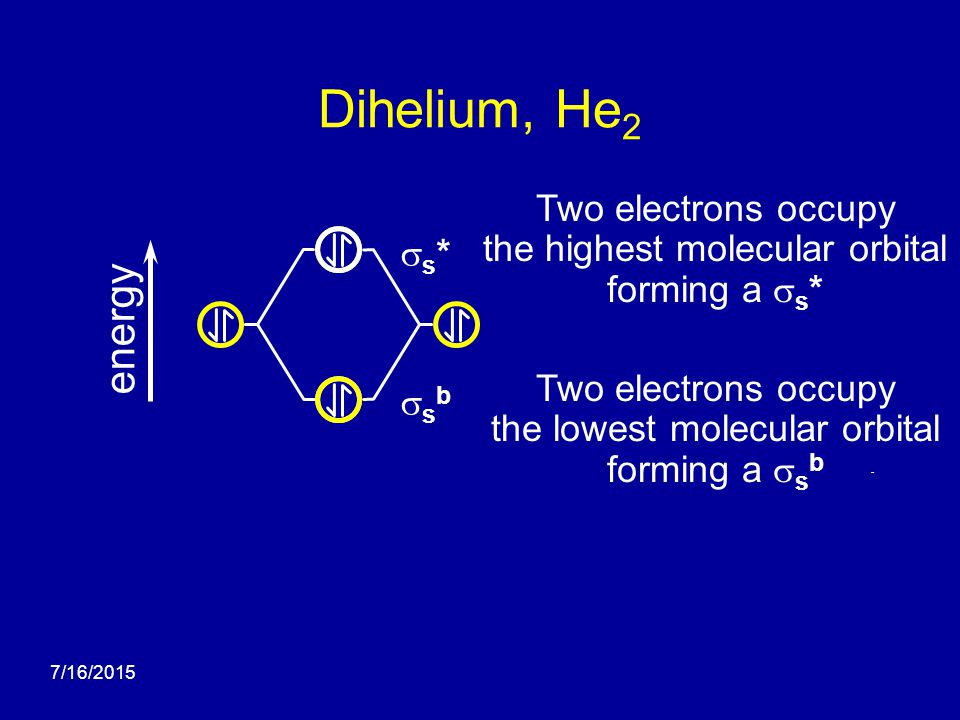 molecular orbital diagram for he2 broan bathroom fans wiring 732 theory - ppt video online download