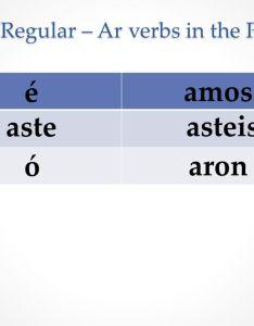 Phase  regular  ar verbs in the preterite also review of ii irregular rh slideplayer