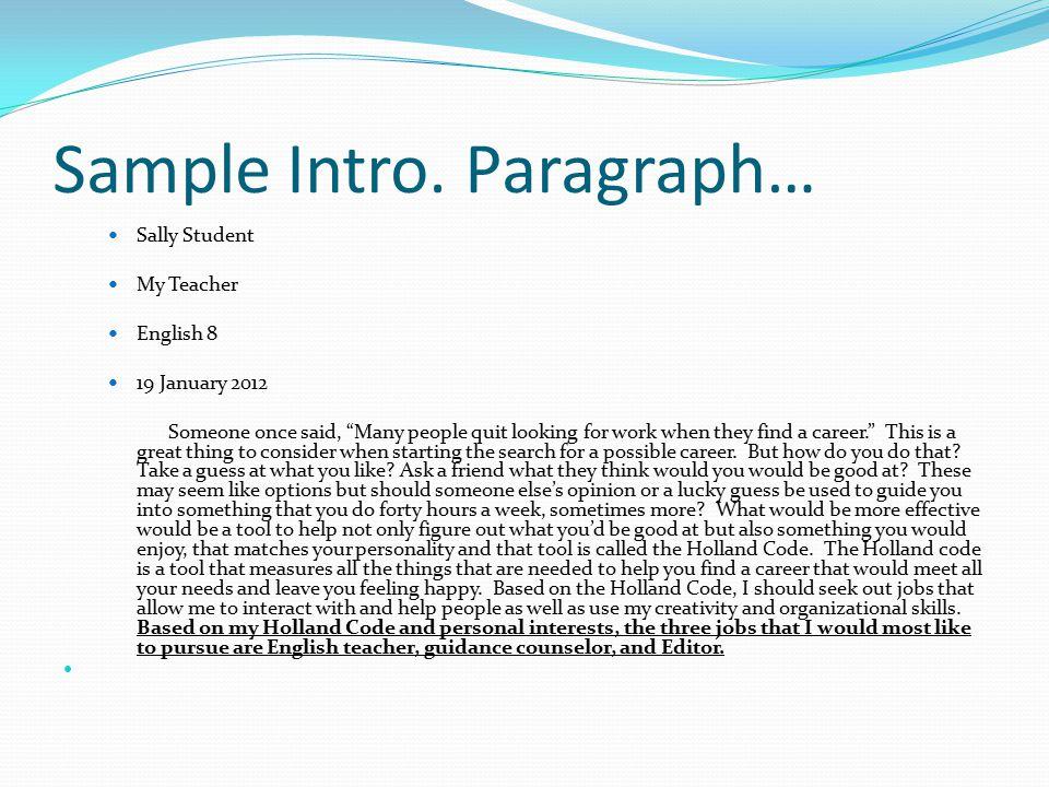 Writing An Essay Career Fair Paper Ppt Video Online