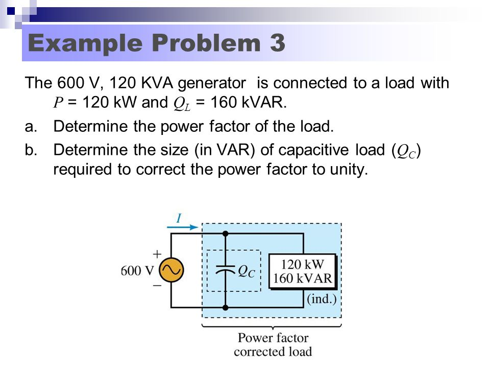 Power Factor And Power Factor Correction Ppt Video Online