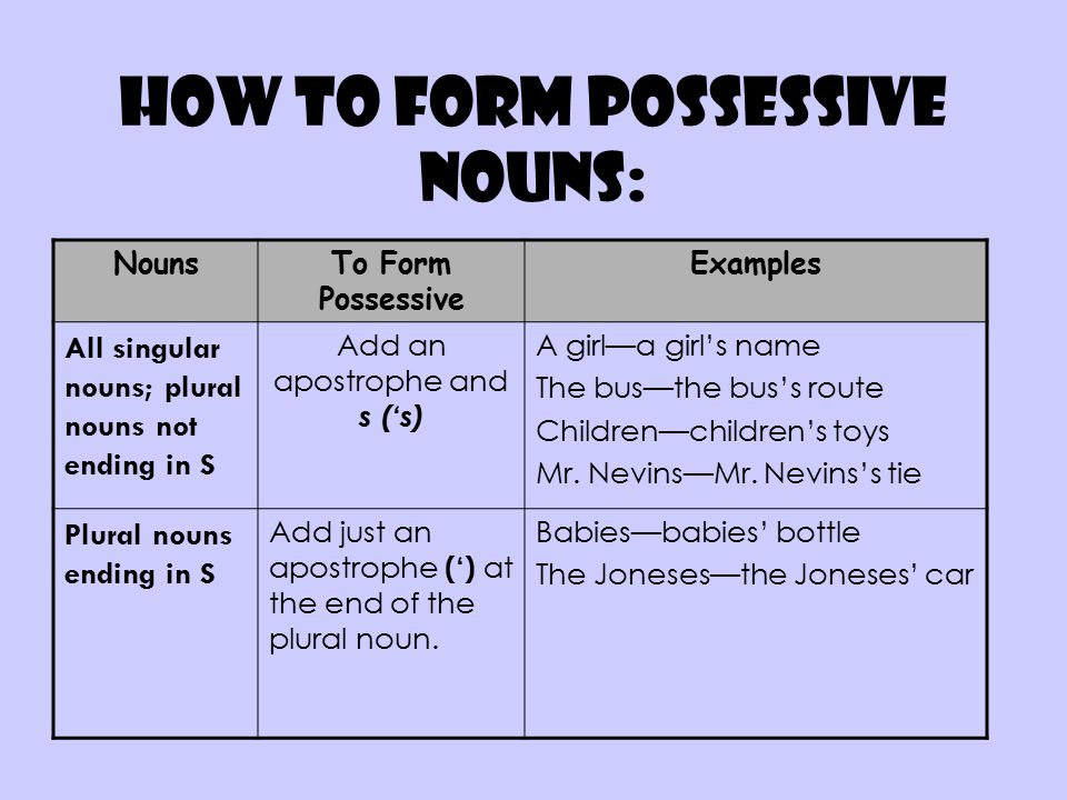 Plurals Possessives And Contractions! Oh MY! Ppt
