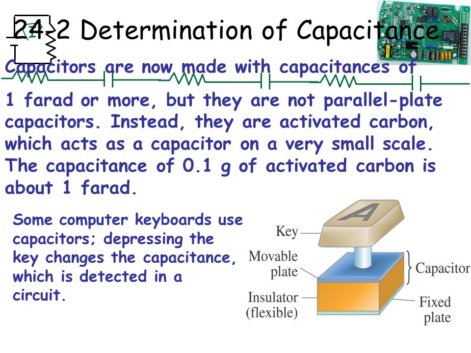 Chapter 24 Capacitance Dielectrics Electric Energy Storage