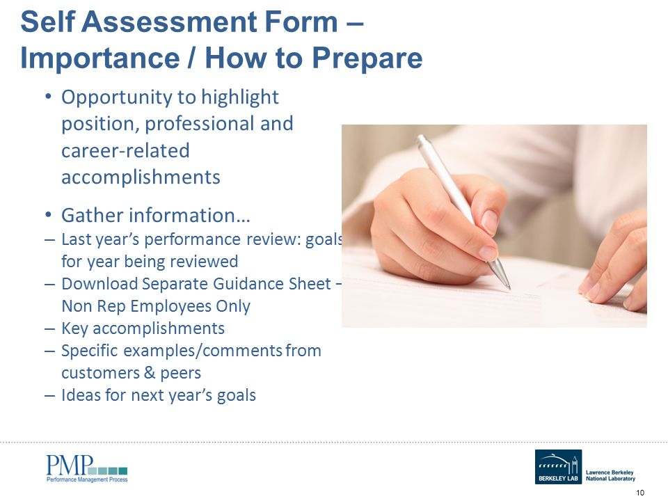 Annual Self Assessment Workshop for Employees - ppt video online ...