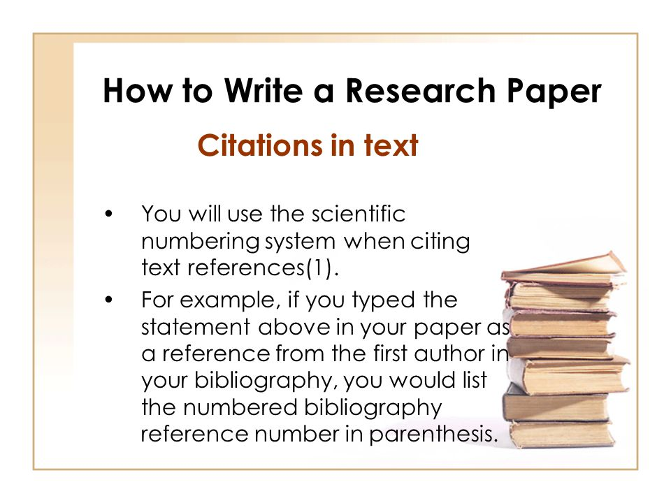 How To Write A Bibliography Paper College Paper Service