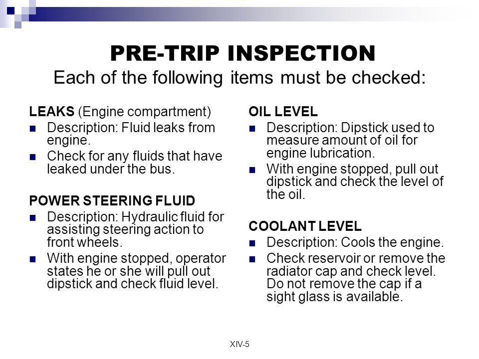 cdl pre trip inspection diagram 2004 pontiac vibe radio wiring commercial drivers license ppt video online 5