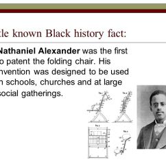 Folding Chair Nathaniel Alexander Overstuffed Club Chairs Little Known Black History Fact Ppt Video Online Download