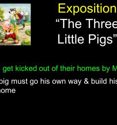 8 exposition the three little pigs  [ 2240 x 1400 Pixel ]
