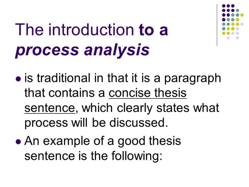 directional process essay