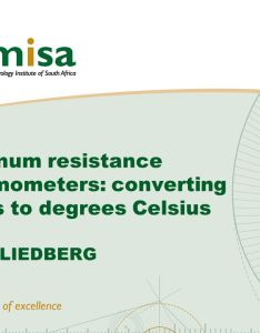 platinum resistance thermometers converting ohms to degrees celsius hans liedberg also overview if temperature by hand remember rh slideplayer