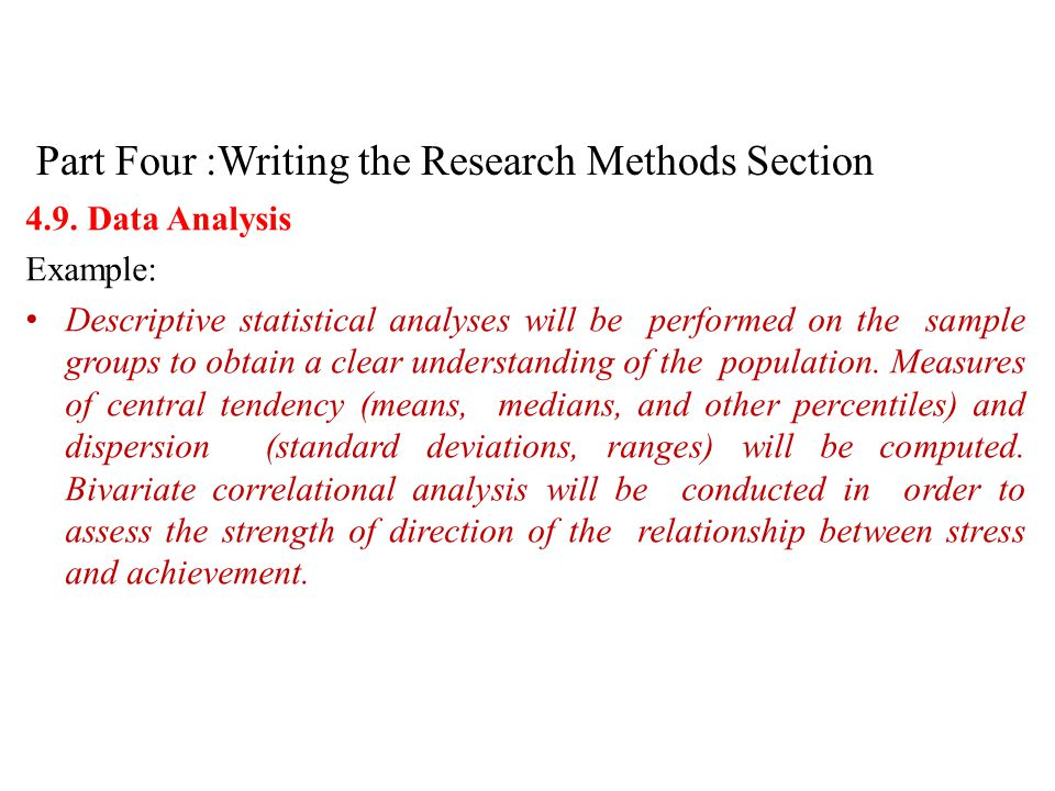 Writing The Method Section Of A Dissertation College Paper Help