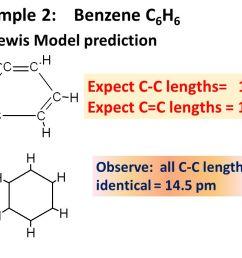 example 2 benzene c6h6 lewis model prediction [ 1280 x 720 Pixel ]