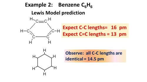 small resolution of example 2 benzene c6h6 lewis model prediction