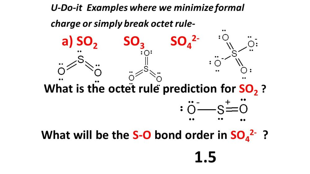 medium resolution of 1 5 a so2 so3 so42 what will be the s o bond order in so42
