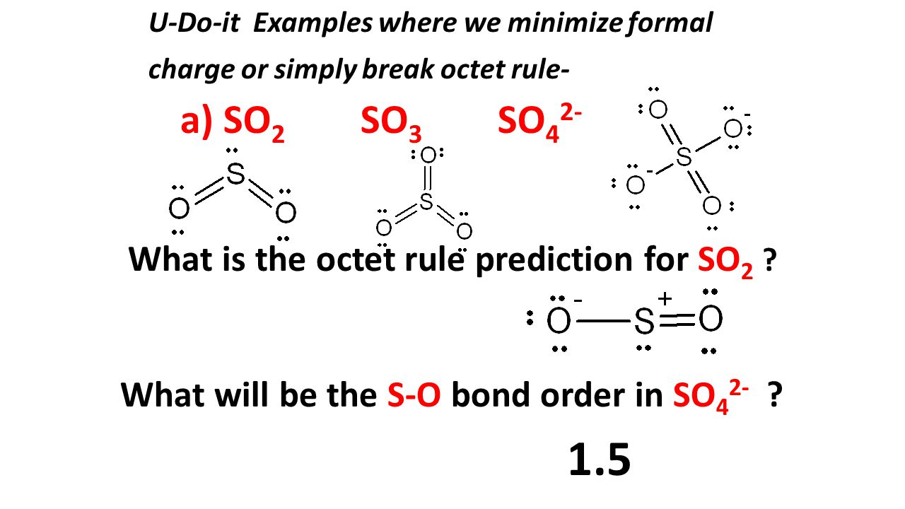 hight resolution of 1 5 a so2 so3 so42 what will be the s o bond order in so42