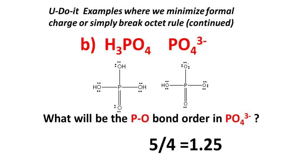 medium resolution of b h3po4 po43 5 4 1 25 what will be the p o bond
