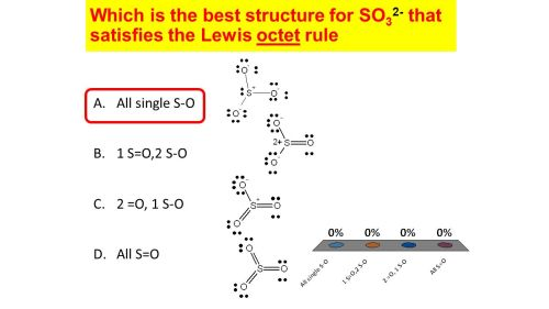 small resolution of which is the best structure for so32 that satisfies the lewis octet rule