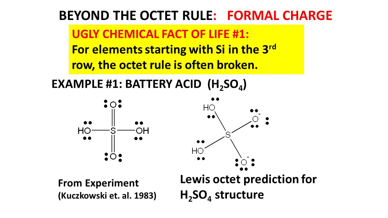 hight resolution of beyond the octet rule formal charge