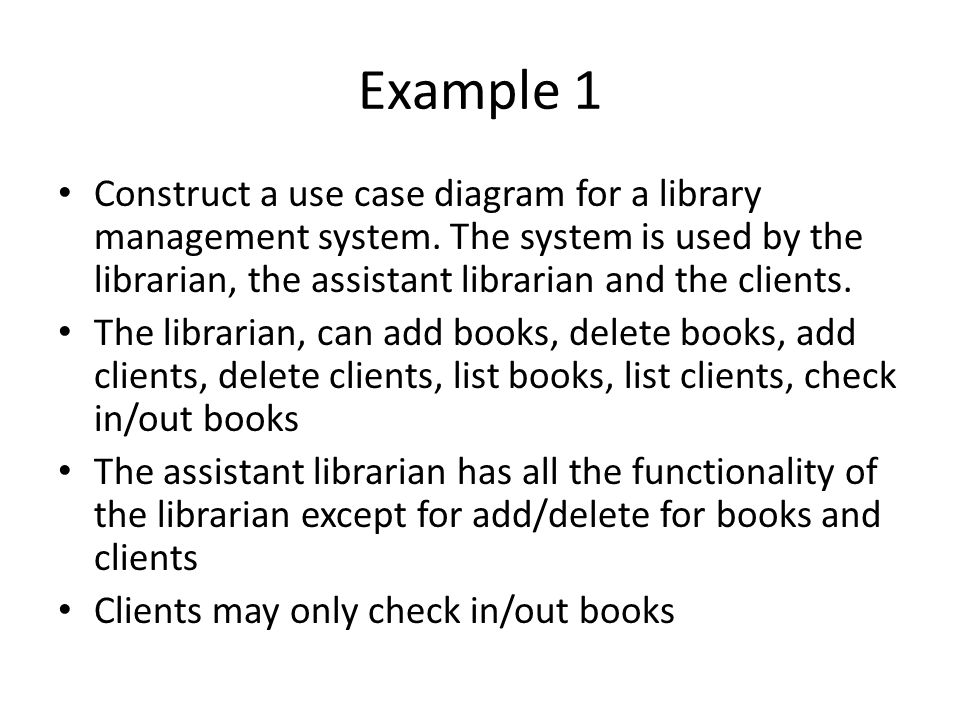 use case diagram library management system pex plumbing diagrams week 1 lab ppt video online download example construct a for the is