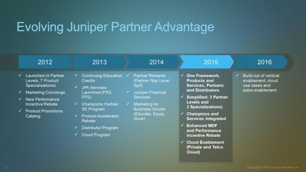 Juniper Partner Advantage Ppt Video Online - Year of Clean Water