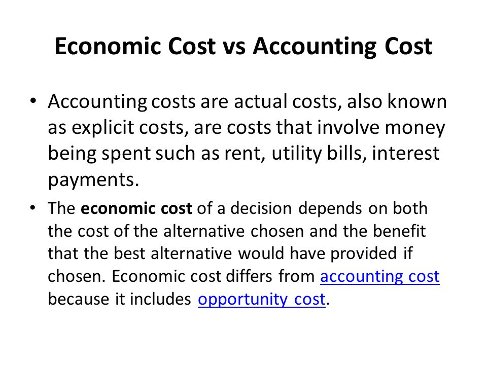 Chapter 6 Cost of Production  ppt download