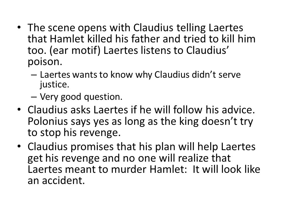 Why didn t hamlet kill claudius SparkNotes Hamlet Act