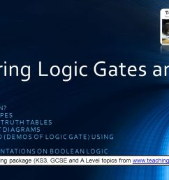 mastering logic gates and truth tables [ 1279 x 720 Pixel ]