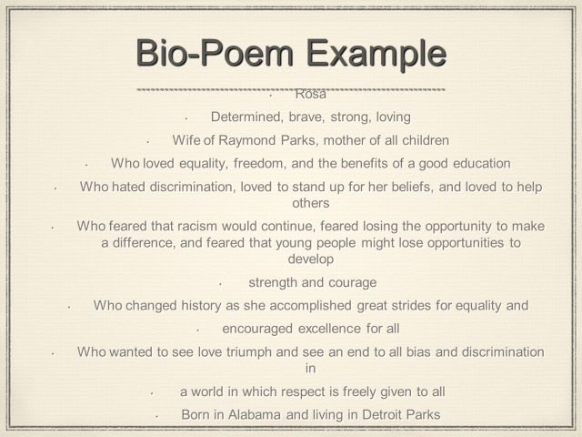 Bio Poem Miguel A. Arce Ramos English 29th. - ppt video online download