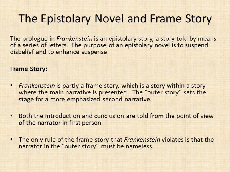 Narrative Frame Frankenstein | Viewframes.org