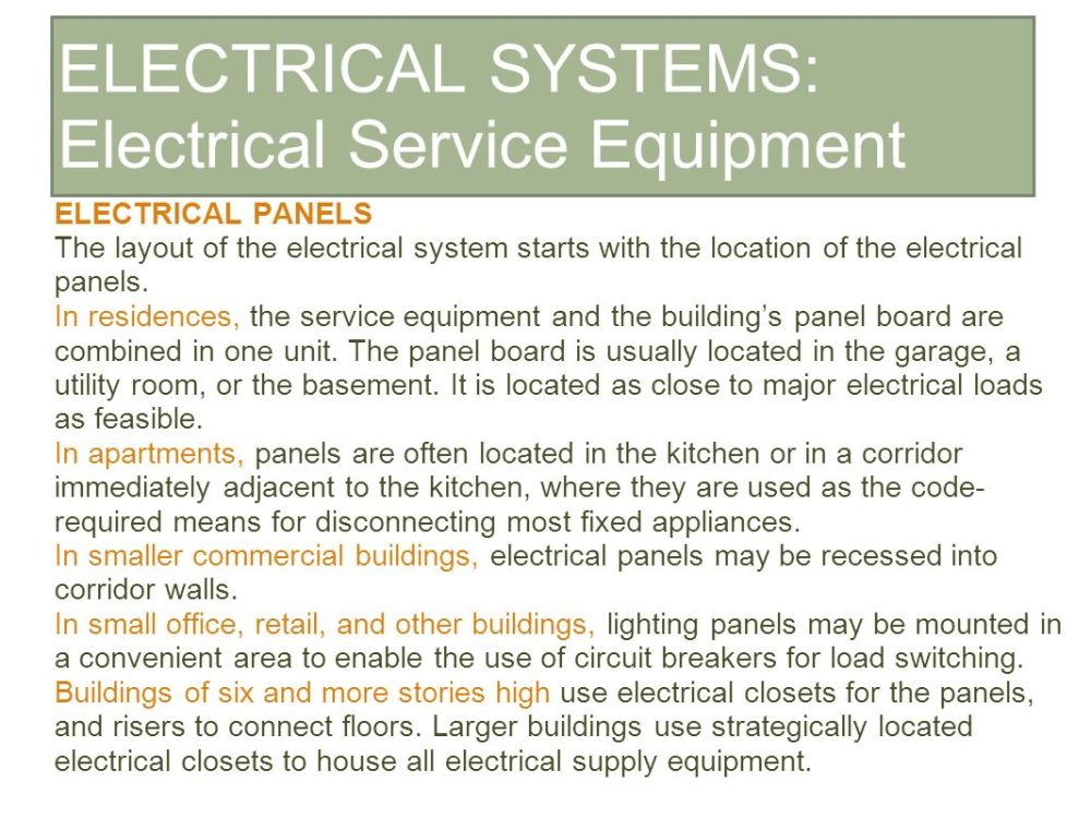 medium resolution of 6 electrical systems electrical service equipment
