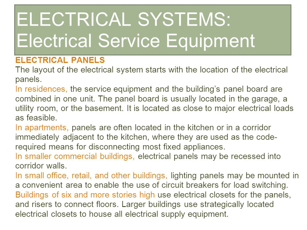 hight resolution of 6 electrical systems electrical service equipment