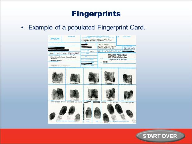 How To Fill Out Fingerprint Card Giftsite