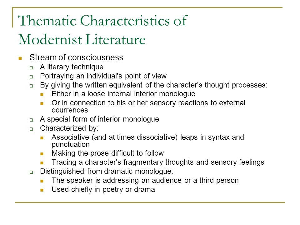 Modernism & Modernist Literature Ppt Video Online Download