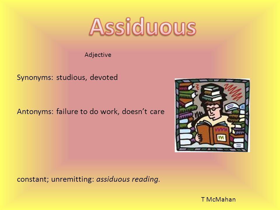 Studious Synonym Adjective