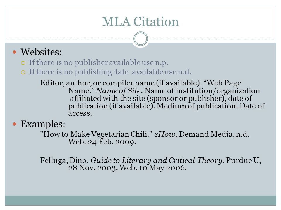 Mla Citation Format Online Article Homework Academic Writing Service