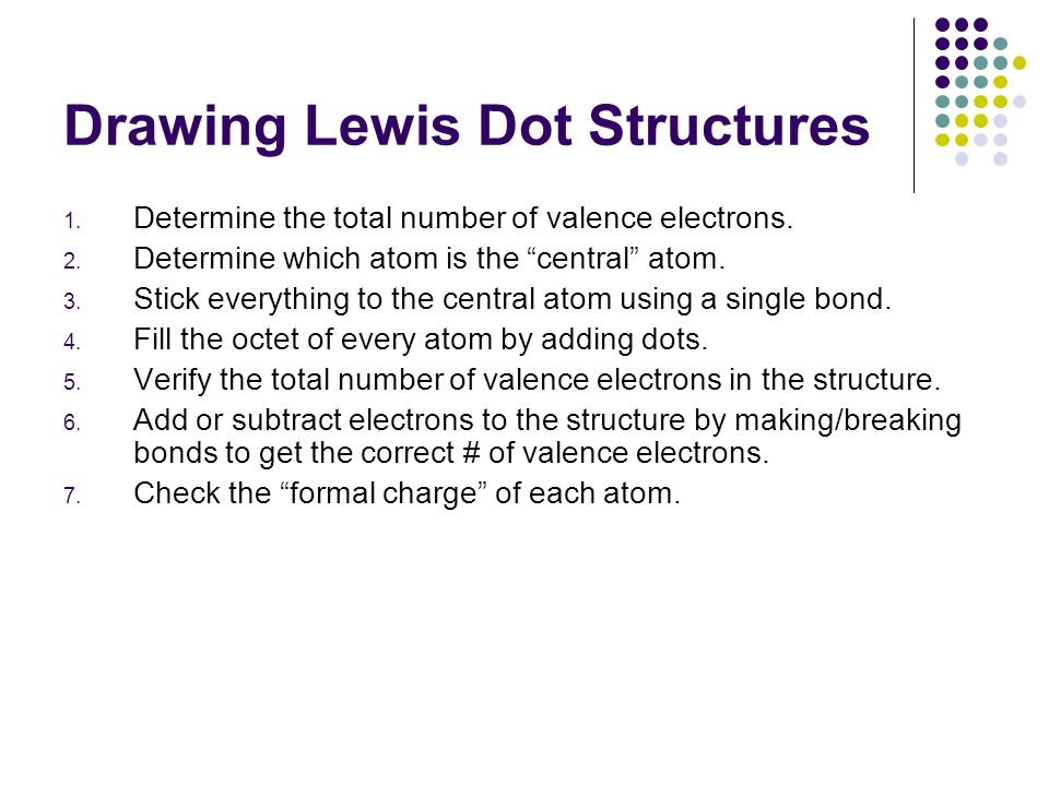 how to make an electron dot diagram wiring for a ceiling fan lewis structures quick review ppt video online download drawing