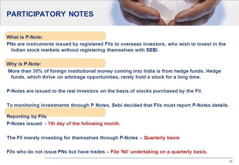 Image result for Participatory Notes (P-Notes)