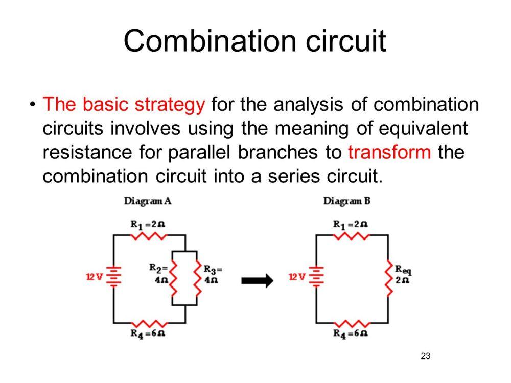medium resolution of combination circuit