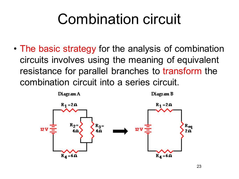 hight resolution of combination circuit