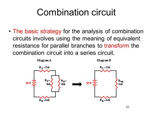 small resolution of combination circuit